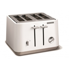 Morphy Richards 240003 Aspect 4 Slice Toaster 1800 Watt White