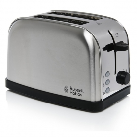 RUSSELL HOBBS FUTURA 2 SLICE TOASTER - BRUSHED STAINLESS STEEL